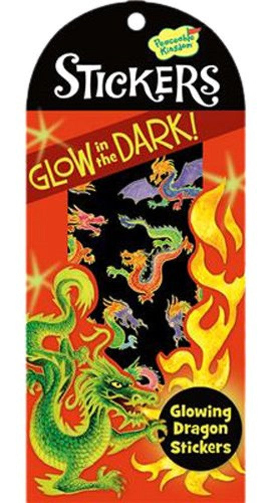 Glowing Dragon Glow in the Dark Stickers