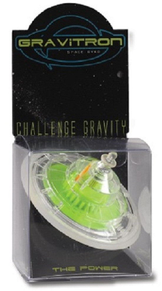Gravitron Space Gyroscope Set w T-Handle & Pedestal Colors Vary - Off The Wall Toys and Gifts
