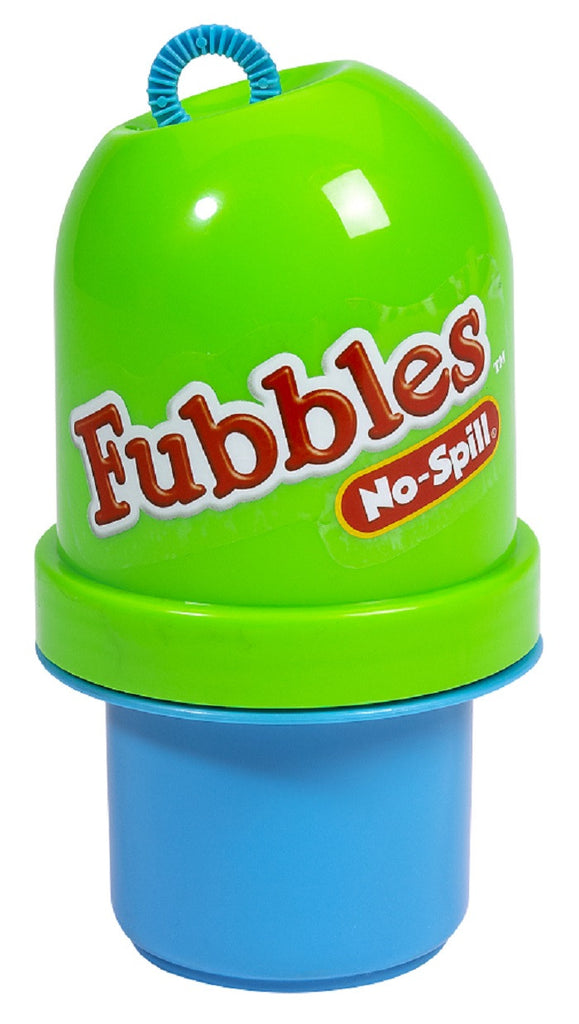 Fubbles No-Spill Bubble Tumbler Green and Blue By Little Kids