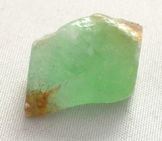 GeoCentral - Green Calcite Rock Mineral Specimen - Raw w Info Card - Off The Wall Toys and Gifts