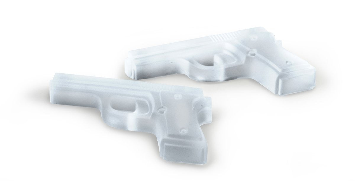 Freeze Handgun-Shaped Ice Tray Silicone Mold - Off The Wall Toys and Gifts