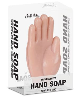 Hand Shaped Soap Musk Scented - Off The Wall Toys and Gifts