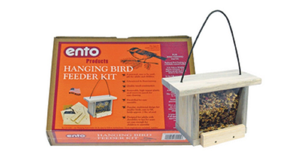 Hanging Bird Feeder Kit - Build a Wood Bird Feeder - Off The Wall Toys and Gifts