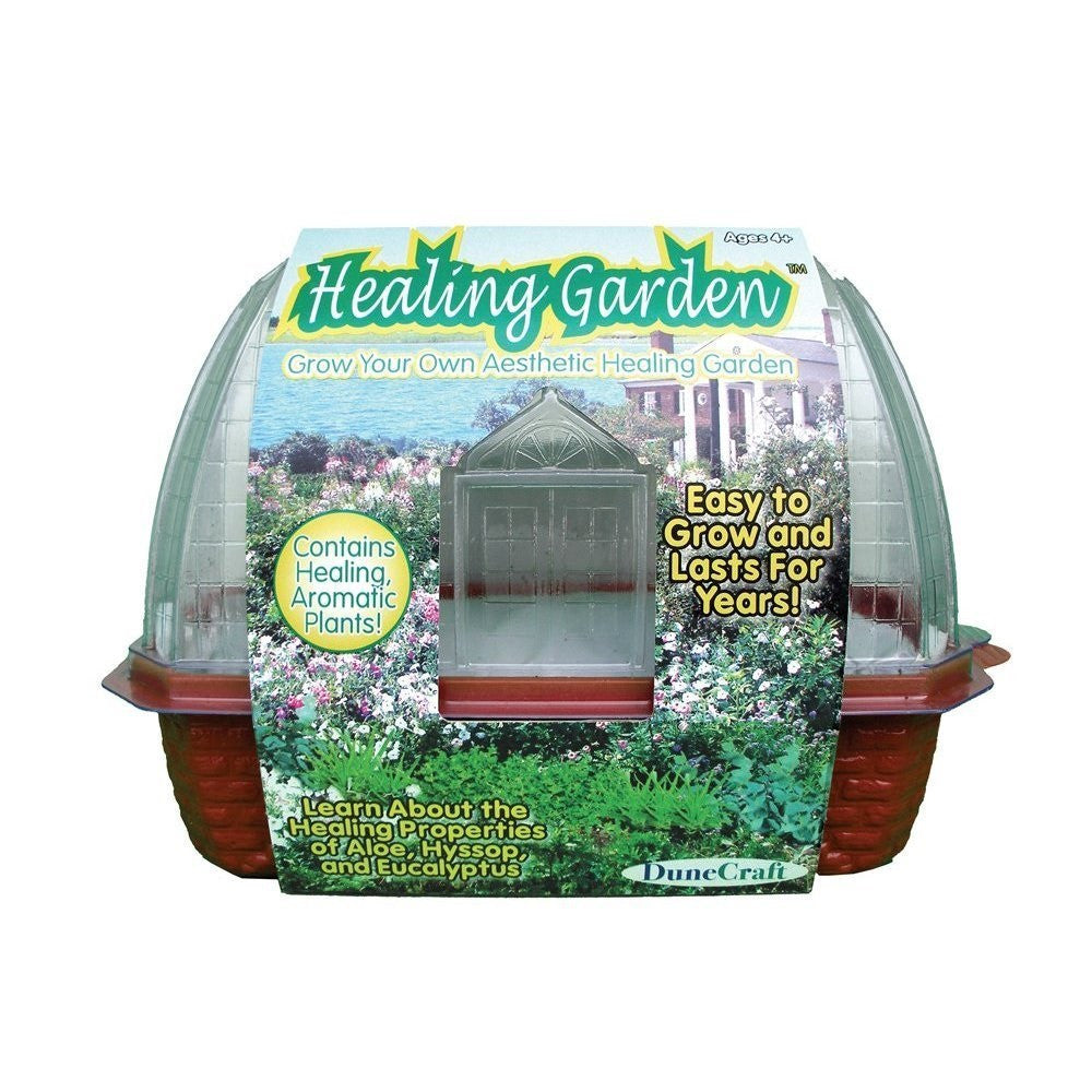 Healing Garden Windowsill Greenhouse Kit w/Seeds - Off The Wall Toys and Gifts