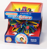 Hoberman Original Rainbow Mini Transforming Sphere Toy - Off The Wall Toys and Gifts