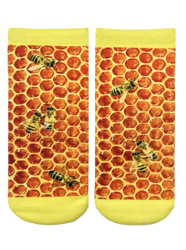Honeycomb Ankle Socks OSFM by Living Royal