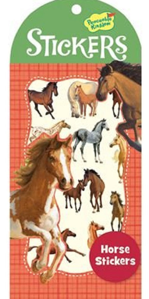 Horses Stickers by Peaceable Kingdom - Off The Wall Toys and Gifts