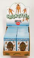 Crickettes Snack Box by Hotlix - Box of 24 Packs Salt & Vinegar Flavor - Off The Wall Toys and Gifts