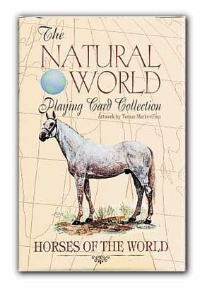 HORSES of the Natural World Deck of Art Playing Cards - Off The Wall Toys and Gifts