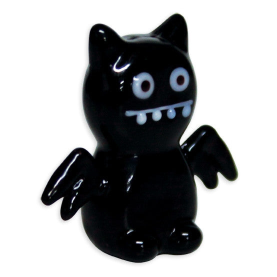 Looking Glass Torch Figurine - IceBat UglyDoll Miniature - Ltd Ed - Off The Wall Toys and Gifts