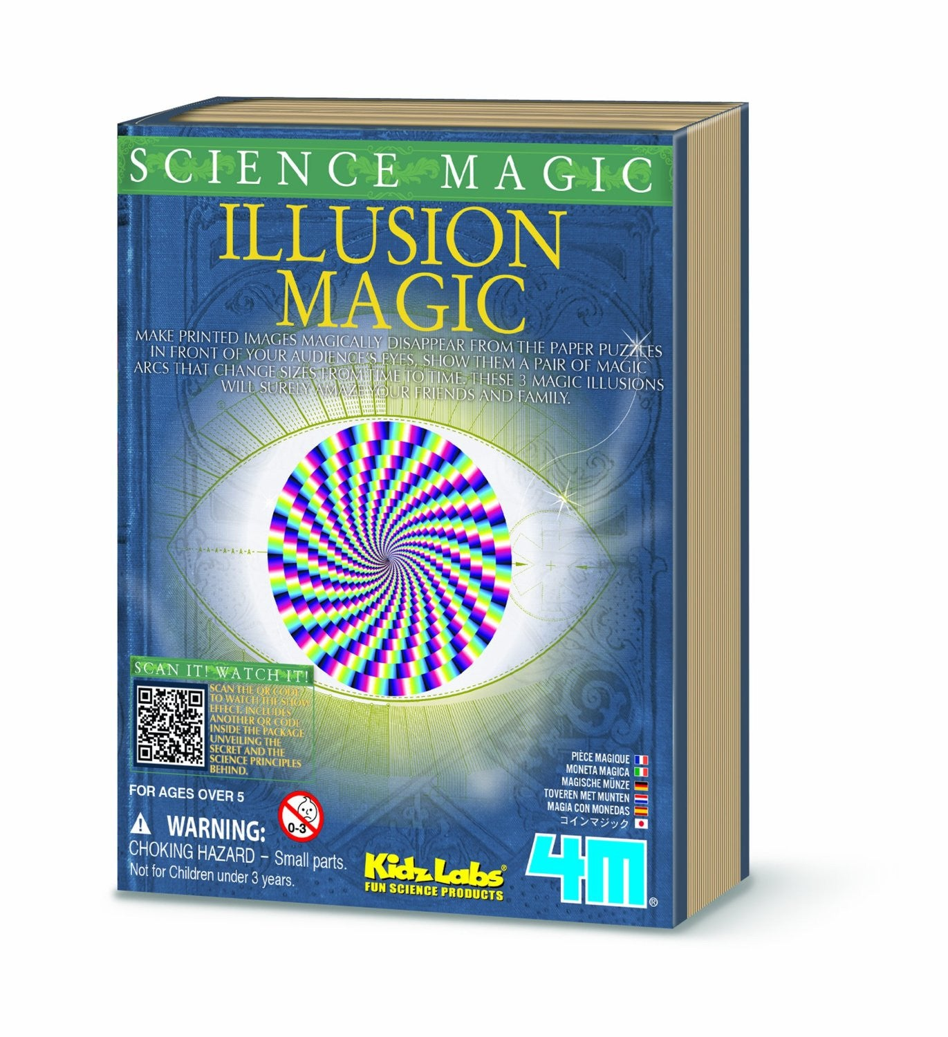 4M Science Magic - Illusion Magic By Toysmith - Off The Wall Toys and Gifts