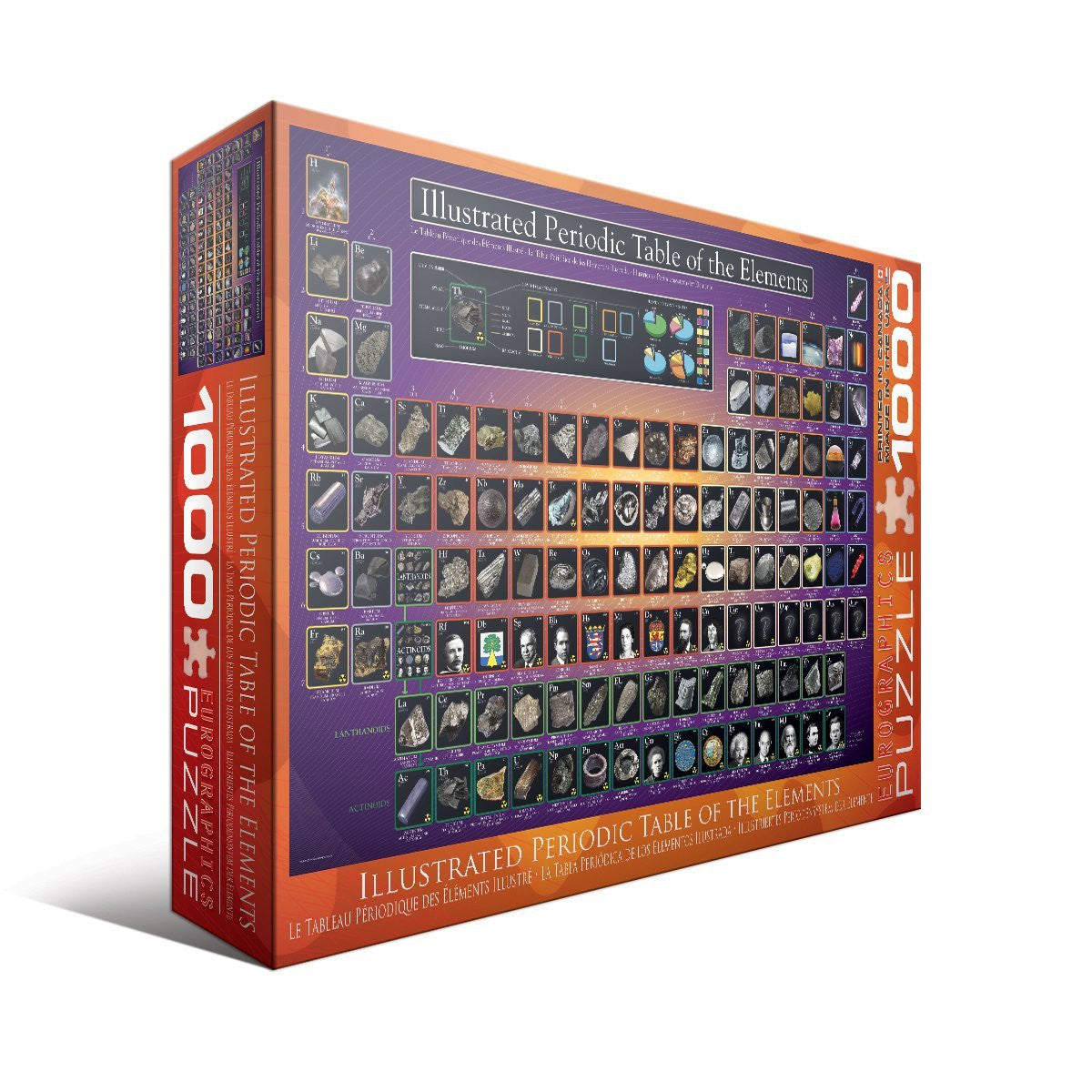 Illustrated periodic table of the elements 1000 piece educational illustrated periodic table of the elements 1000 piece educational puzzle 265 x 1925 in urtaz Images