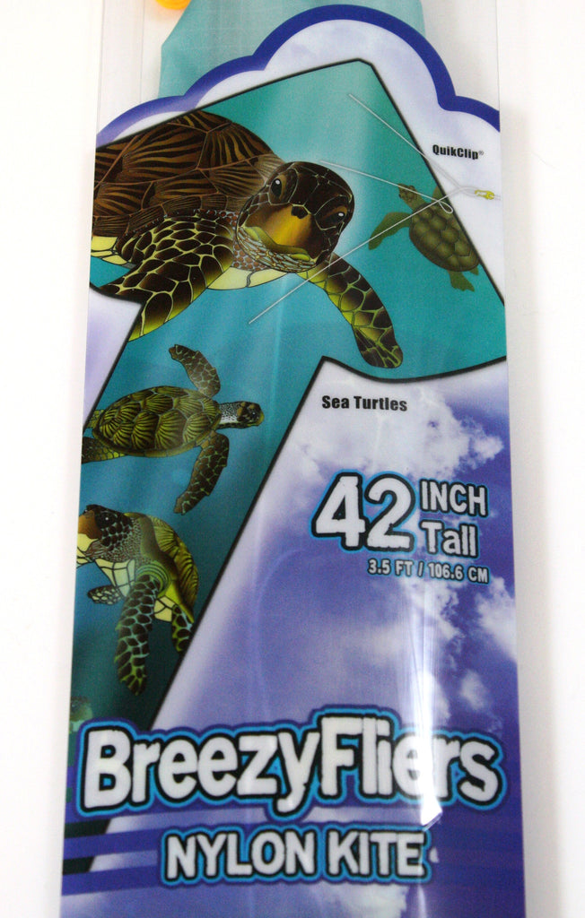 42 Inch Tall Wind 'n Sun BreezyFliers Sea Turtles Kite
