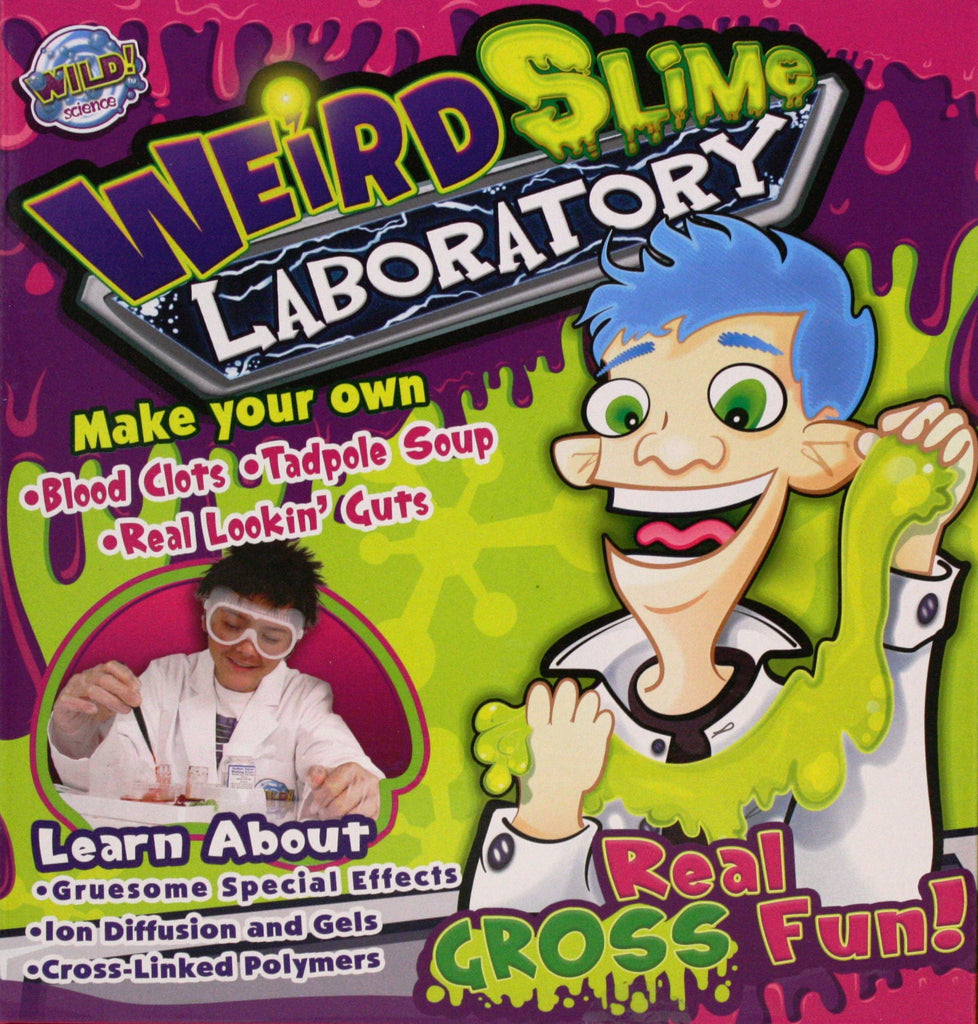 Wild Science Wierd Slime Laboratory - Make Your Own Slime