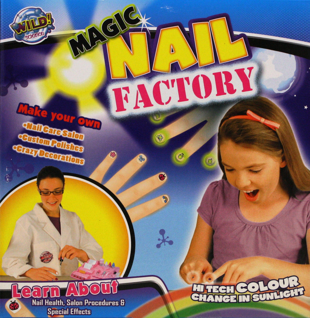 Wild Science Magic Nail Factory - Customize Your Own Nail Polish