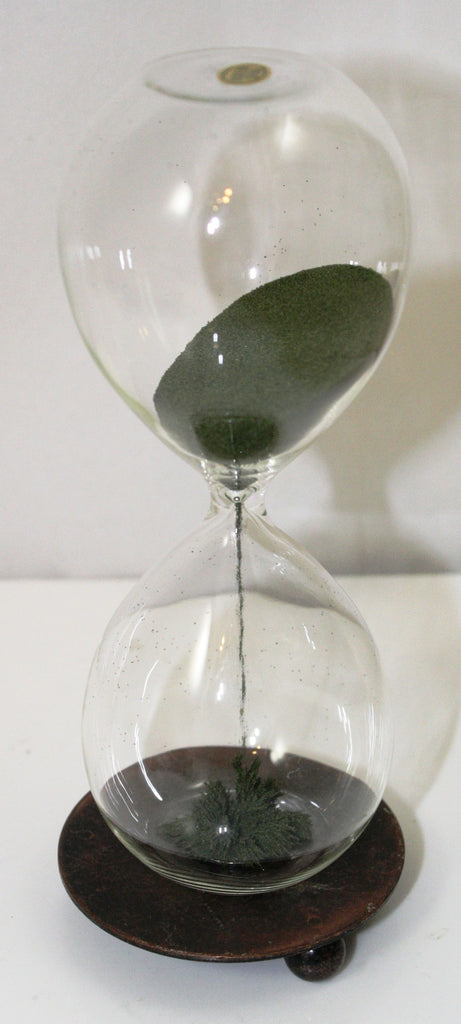 3 Minute Magnetic Hourglass Timer w/Iron Filings