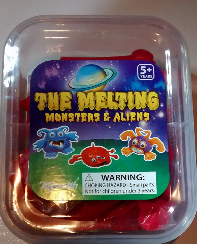 Melting  Monster & Alien Kit By Toysmith - Colors Vary