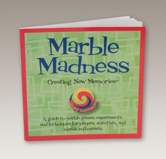 Marble Madness Booklet:  Mega Marbles Guide to Marbles - Off The Wall Toys and Gifts