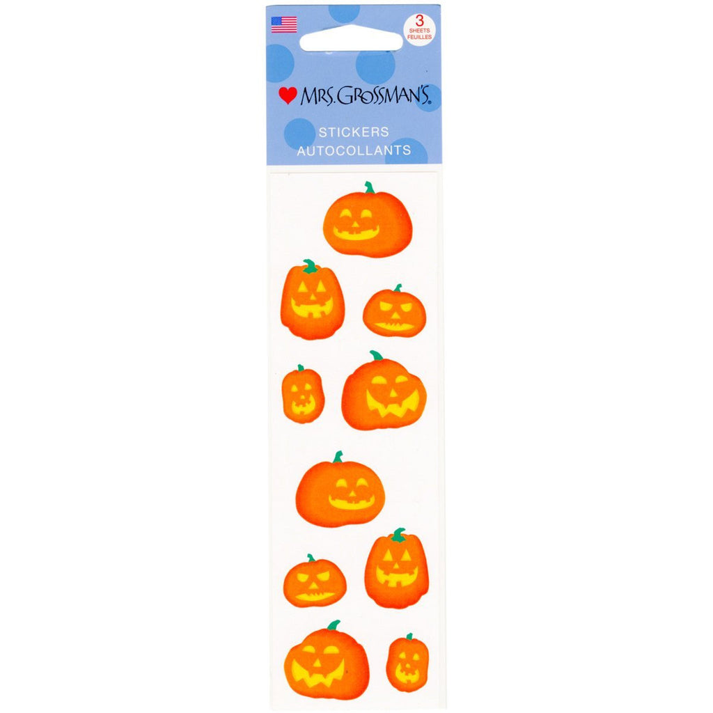 Mrs. Grossman's Stickers Halloween Pumpkins