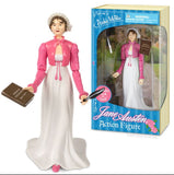 Jane Austen Action Figure with Book and Quill - Off The Wall Toys and Gifts