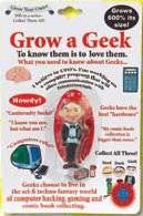 Grow A Geek: Collectible Magic Growing Thing - Off The Wall Toys and Gifts