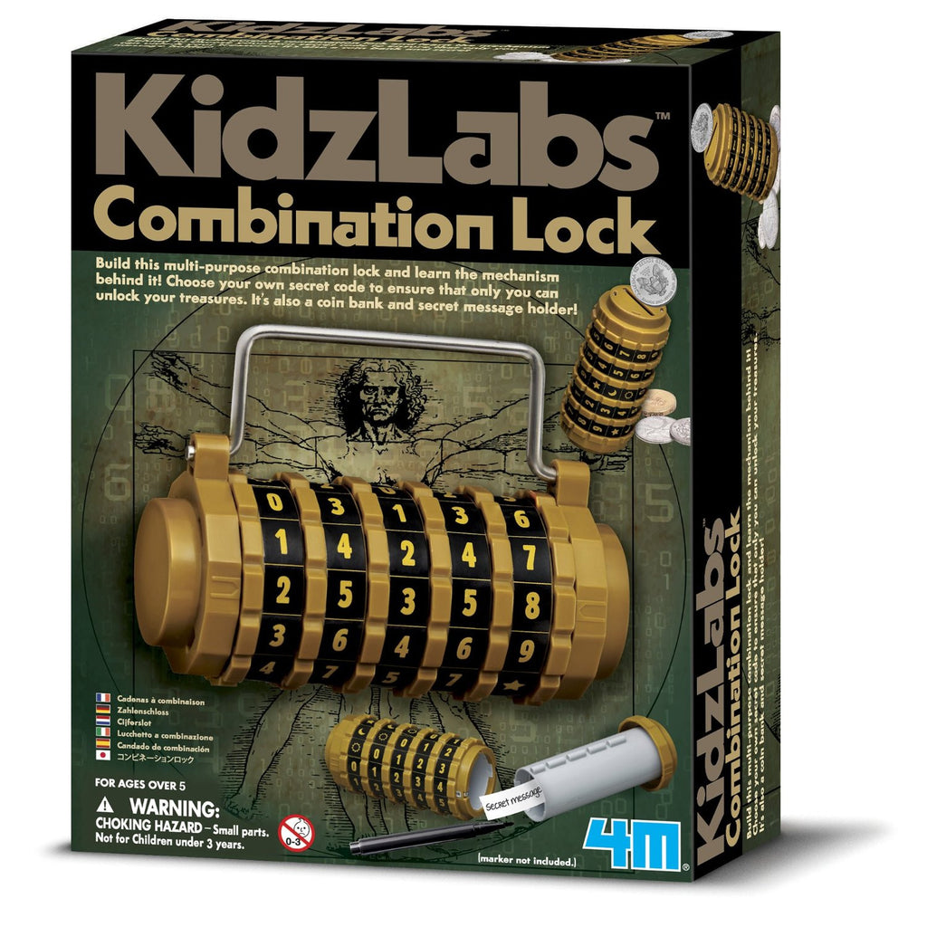 KidzLabs Combination Lock 4M Science Kit