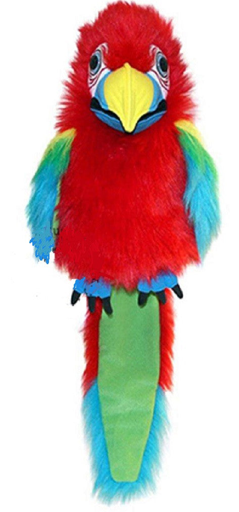 Amazon Macaw Hand Puppet w Voice by The Puppet Company
