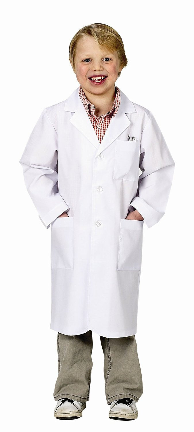 Jr. Lab Coat in White - Child Size 6 - 8 - Off The Wall Toys and Gifts