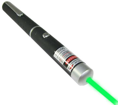 532nm Green Laser Pointer with Display Case