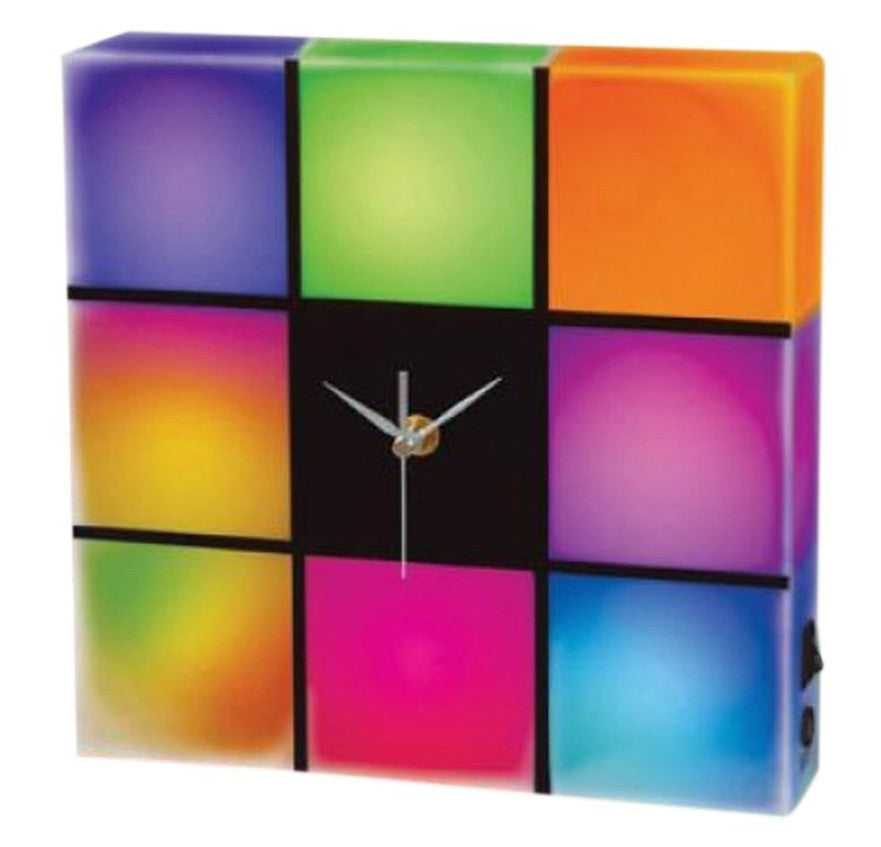 LED Color Changing Wall Clock - Off The Wall Toys and Gifts
