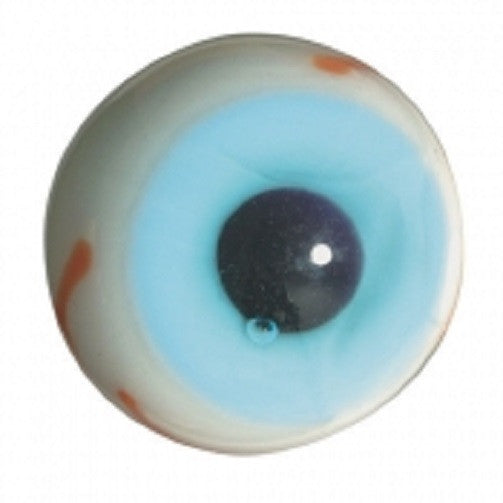 Handmade Collectible Glass Eyeball Marbles Pack of 50 Includes 3 Colors of Eye - Off The Wall Toys and Gifts