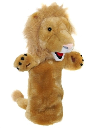 Long Sleeved - 15 Inch Glove Puppet - LION - Collectible Hand Puppet Character - Off The Wall Toys and Gifts