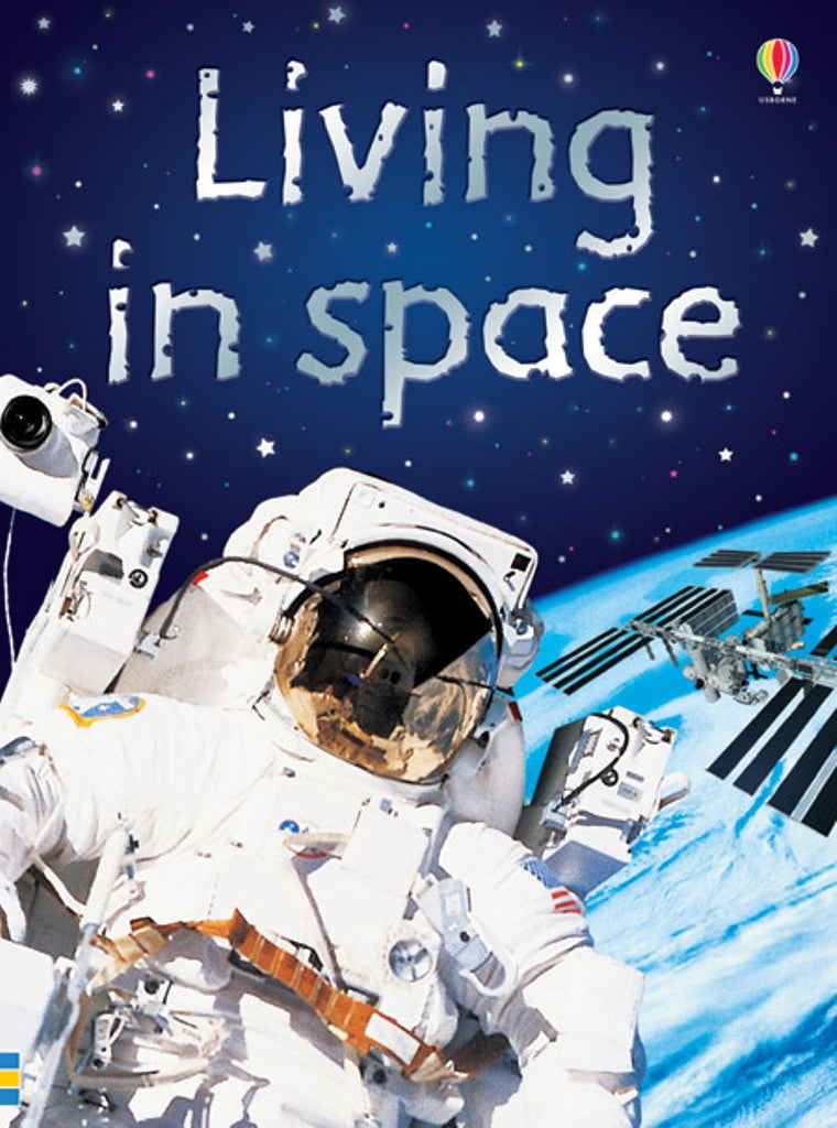 LIVING IN SPACE - Usborne Beginners Reader Ages 7+ - Off The Wall Toys and Gifts