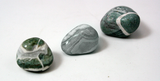 Green Lizardskin Agate Tumbled Mineral Rock Approx. 0.5-1 Inch - Pack of 3