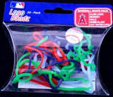 LA Angels Logo Bandz licensed Rubber Band Bracelets 20pk - Off The Wall Toys and Gifts