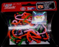Auburn Logo Bandz licensed Rubber Band Bracelets 20pk - Off The Wall Toys and Gifts