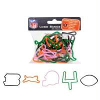Cincinnati Bengals NFL Logo Bandz licensed Rubber Band Bracelets 20pk - Off The Wall Toys and Gifts