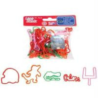 Licensed Florida Gators Logo Bandz licensed Rubber Bands 20pk - Off The Wall Toys and Gifts