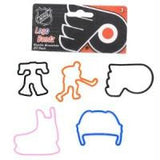Philadelphia Flyers NHL licensed Logo Bandz Rubber Bands 20pk - Off The Wall Toys and Gifts