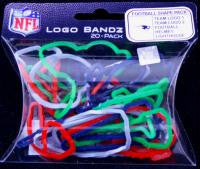 New England Patriots NFL licensed Logo Bandz Rubber Band Bracelets 20pk - Off The Wall Toys and Gifts