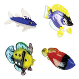 Looking Glass Torch - Ocean Figurines - 4 Different Fish (4-Pack) - Off The Wall Toys and Gifts