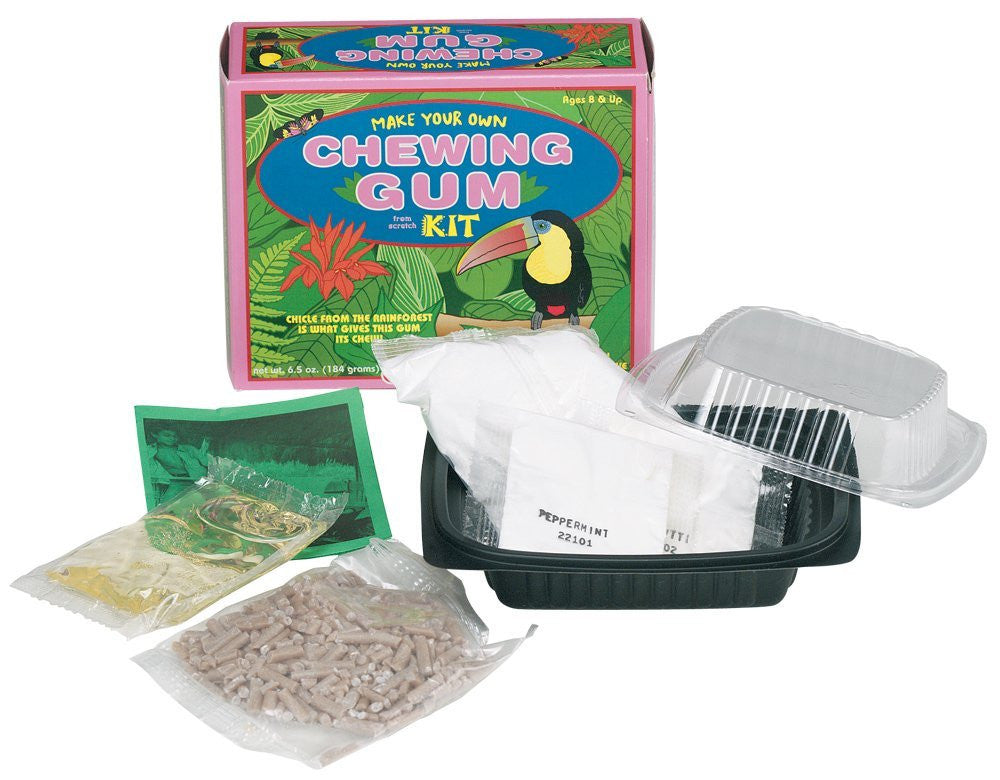 Make Your Own Chewing Gum Kit - Natural Gum Education Kit - Off The Wall Toys and Gifts