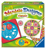 2 in 1 Mandala Designer  Arts & Crafts Kit by Ravensburger - CLASSIC - Off The Wall Toys and Gifts