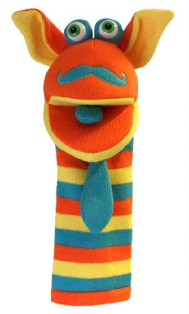 Mango Knitted Hand Puppet by The Puppet Company - Off The Wall Toys and Gifts