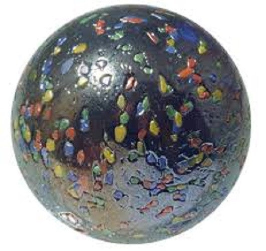 Massive Glass GlitterBomb Marble -  42 mm (1.65 Inch) by House of Marbles - Off The Wall Toys and Gifts