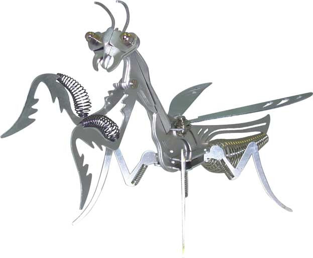 Mega Mantis - Build It Yourself Educational Aluminum Kit - Off The Wall Toys and Gifts