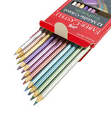 12 Count Metallic Colored Eco Pencils by Faber-Castell - Off The Wall Toys and Gifts