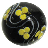 Glass MIMOSA Marble - Handmade 22 mm (.86 Inch) - Off The Wall Toys and Gifts