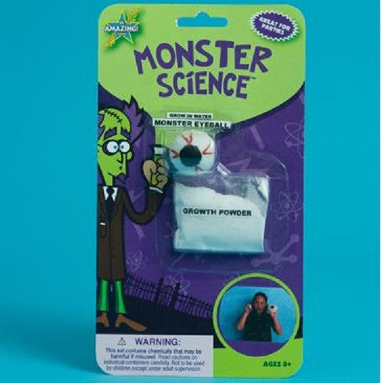 Be Amazing Monster Science Grow a Giant Slimy Eyeball