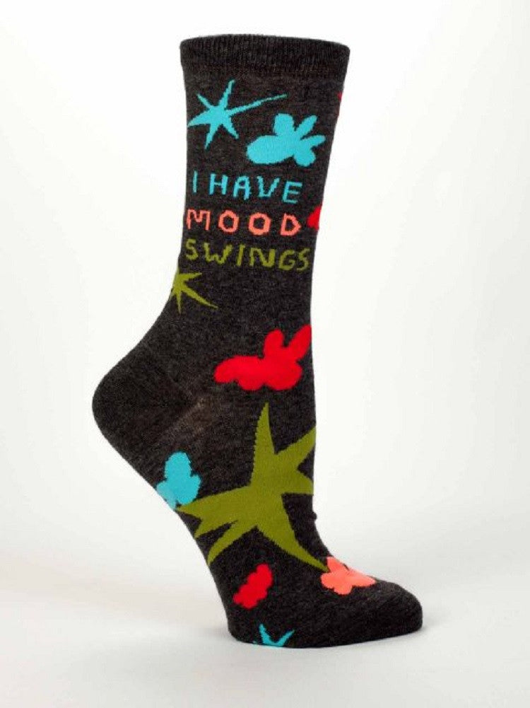 I Have Mood Swings Women's Dress Socks by Blue Q